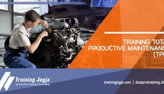 Informasi Training Total Productive Maintenance (TPM) di Jogja Pusat Pelatihan SDM Murah Terbaru Bulan Tahun Ini Diskon Biaya