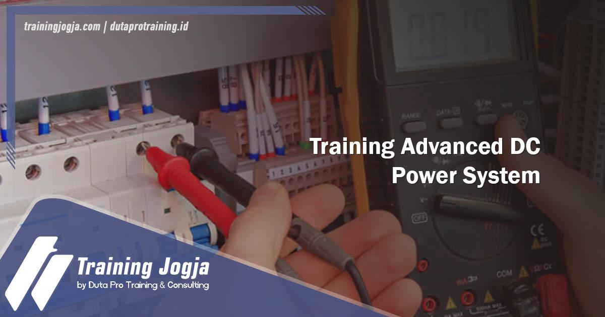 Info Training Advanced DC Power System di Jogja Pusat Pelatihan SDM Murah Terbaru Bulan Tahun Ini Diskon Biaya